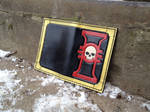 Inquisition leather passport cover by Arnakhat