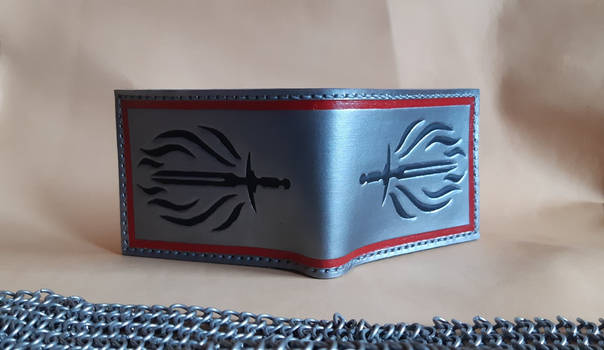 Dragon Age Templars leather wallet