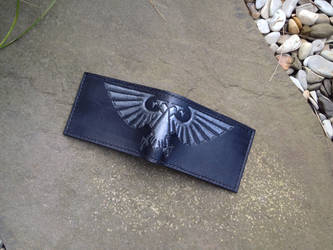 Good old fashioned steel aquila bifold wallet