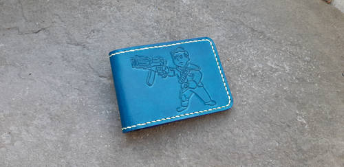 Fallout wallet with the vault boy by Arnakhat