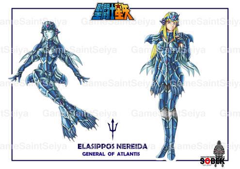 Saint Seiya Atlantis Chapter Nereida