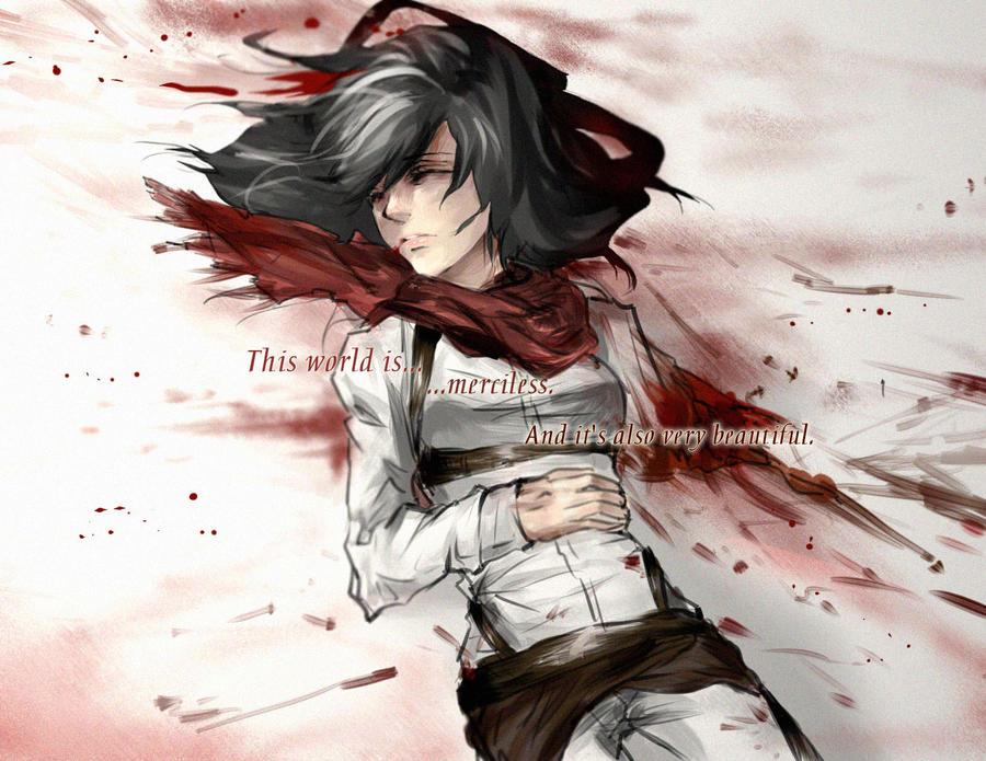 Mikasa by vansik
