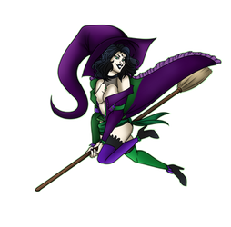 Katrine Witch Pinup