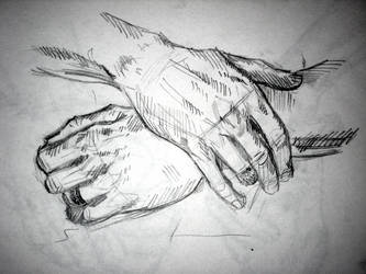 Hands #1 by Swallagoon