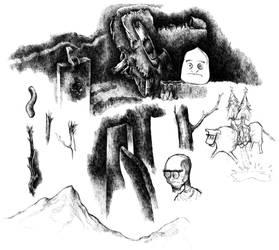 First Tablet Doodles