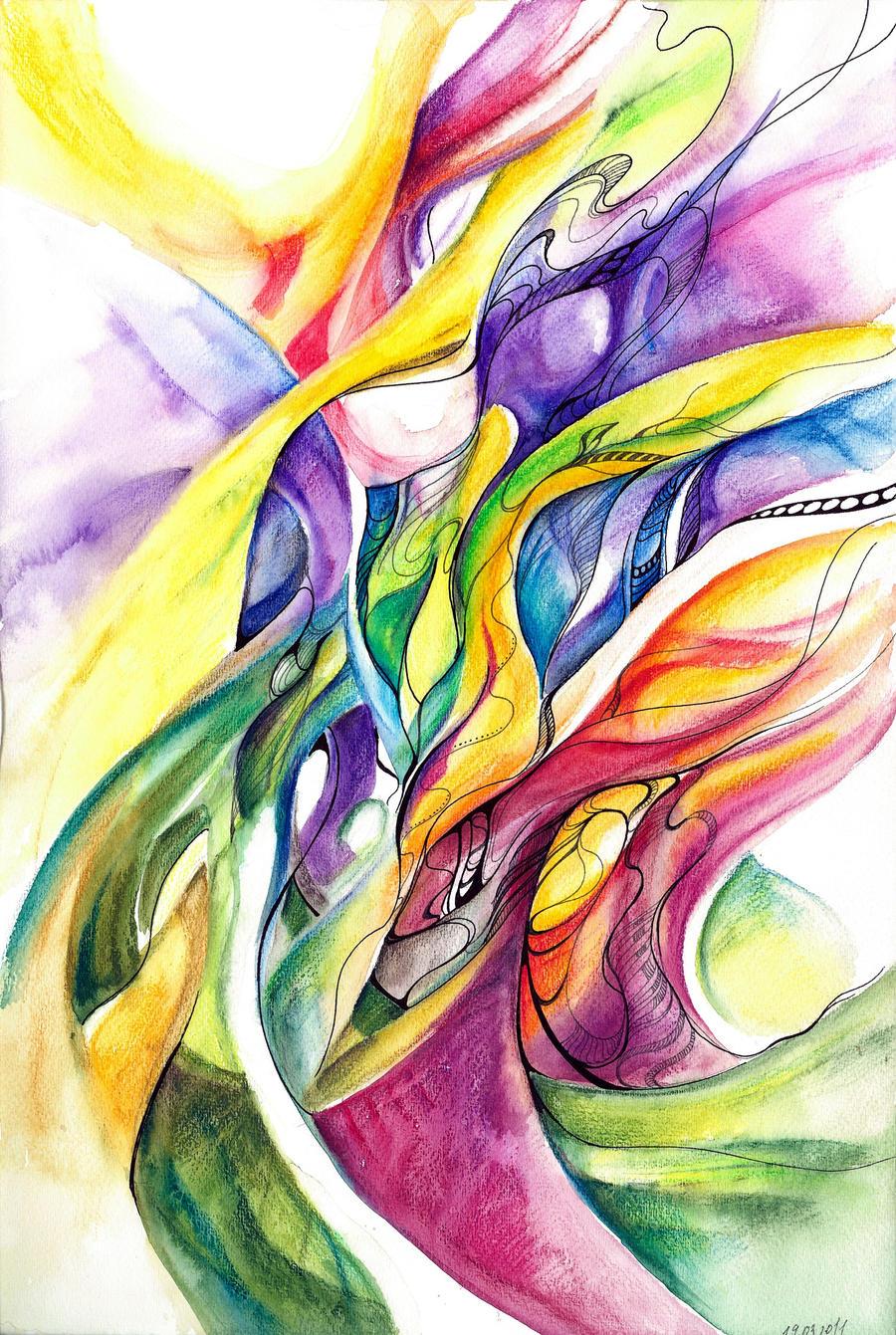 2011 03 19 simple spring by Volya