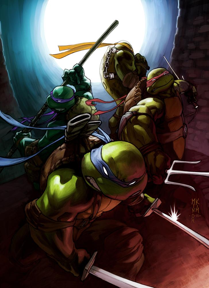 Teenage Mutant Ninja Toitulls!! by MinohKim