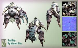 Seahag Model by MinohKim