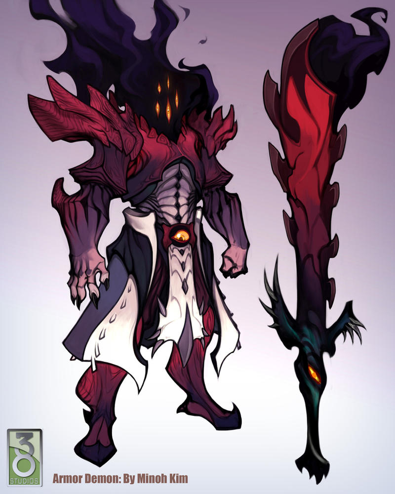 Demon Armor Concept by MinohKim