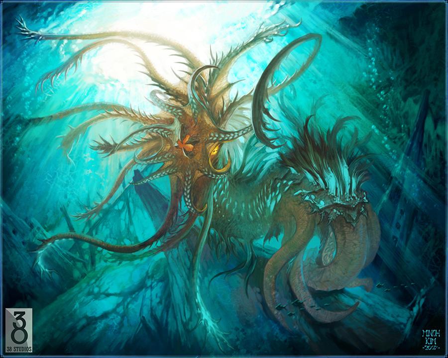 Kraken! by MinohKim on DeviantArt
