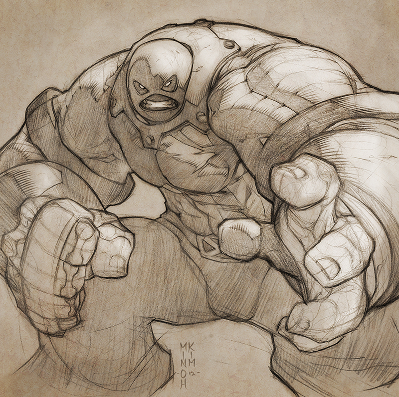 Colossus is Juggernaut!! by MinohKim