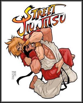 Brazilian Jiu Jitsu T-shirt design