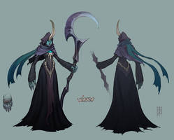 League of Legends - Reaper Soraka skin