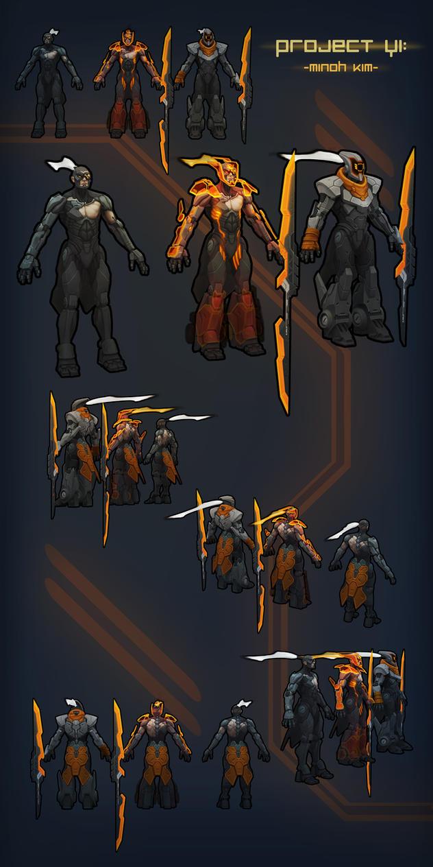 League of Legends - Project Yi: skin by MinohKim