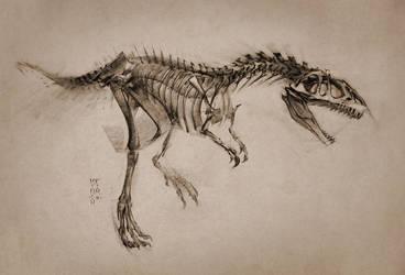 2016 Allosaurus by MinohKim
