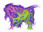 TRex vs Triceratops Dec 2016