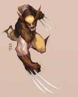 Wolverine MinohKim 2018 by MinohKim