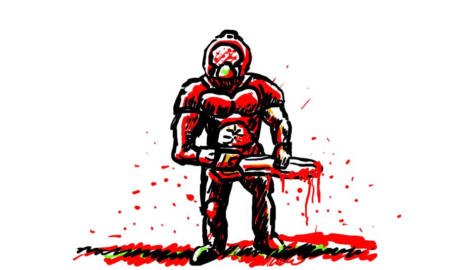 Doom guy by Inqubus-verseum