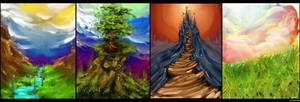 landscapes by toubab