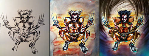 wolverine step by toubab
