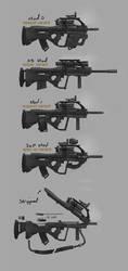 gunsgunsguns by 0800