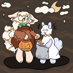 [DB] belated halloween treats!