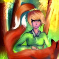 fox is friend by ryky