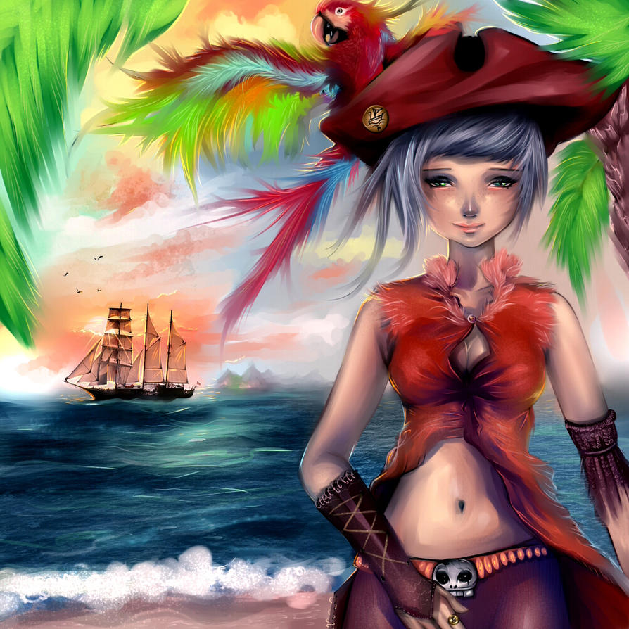 The Pirate's Life by ryky