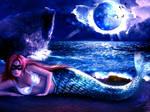 Mermaid in the light