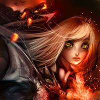 Dragon beauty by ryky