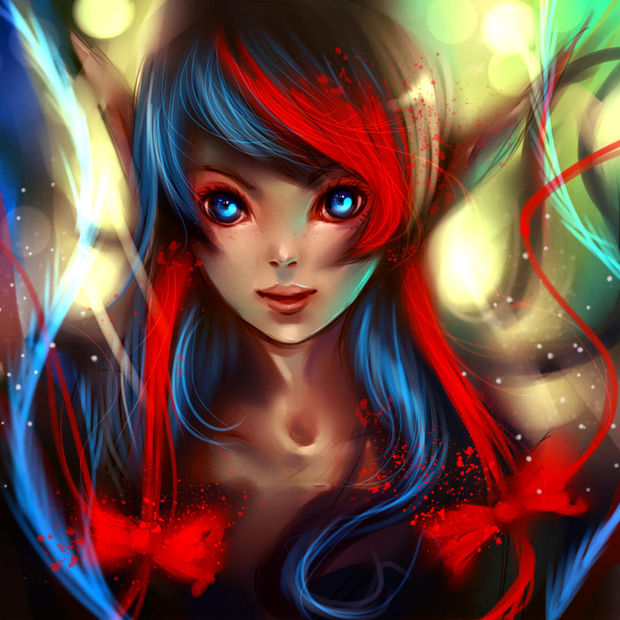 Beauty elf by ryky