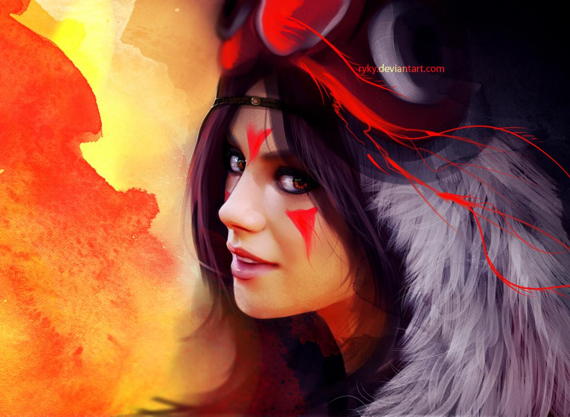 Princess Mononoke by ryky