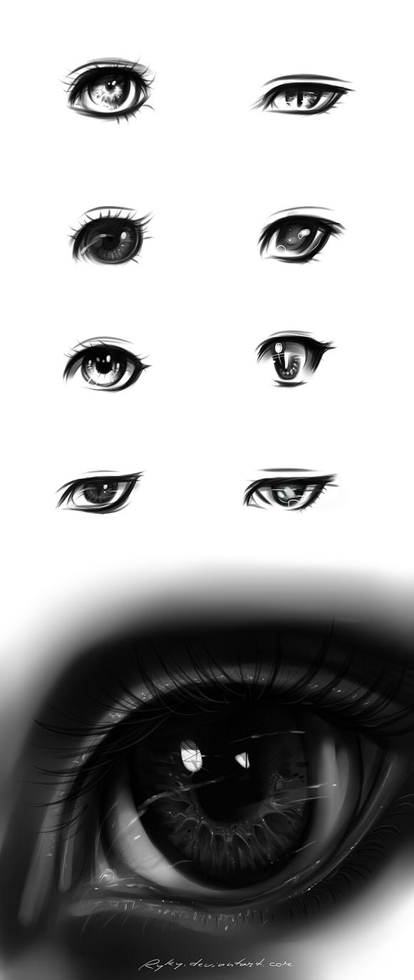 eyes type 2 by ryky