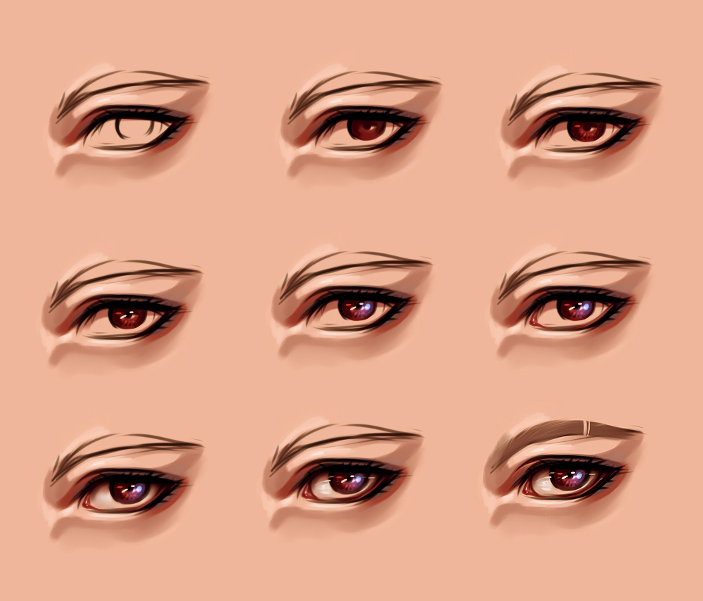 Paint tool sai eyes tutorial by ryky on deviantart eye process 2 by ryky ccuart Images