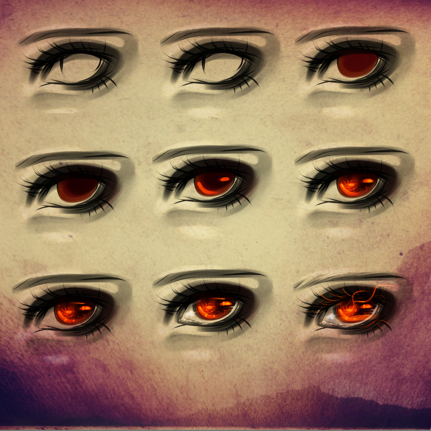 Paint tool sai eyes tutorial by ryky on deviantart eye process 6 by ryky ccuart Images