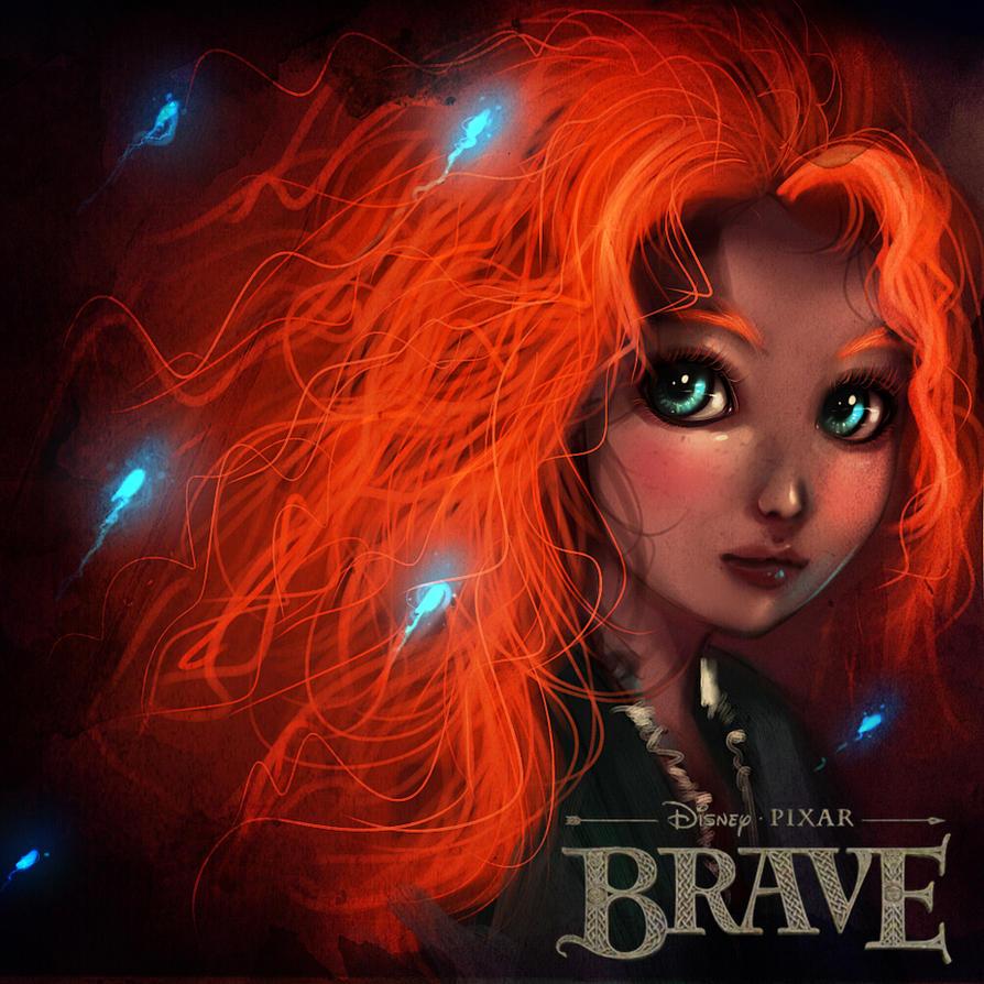 Brave - Merida by ryky