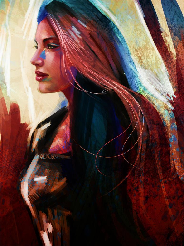 Amelia Carter by ryky