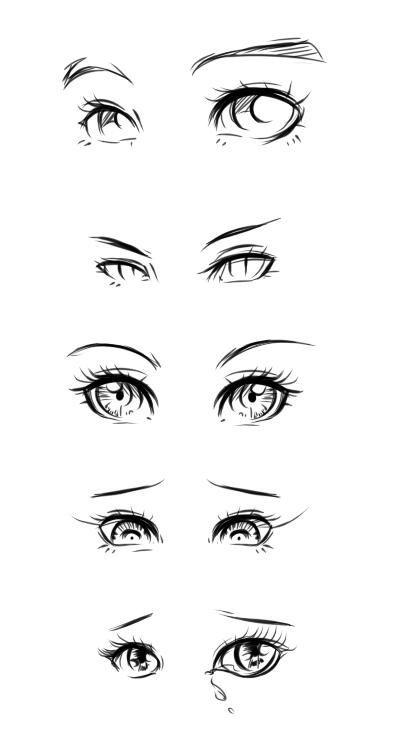 eye design tutorial by ryky