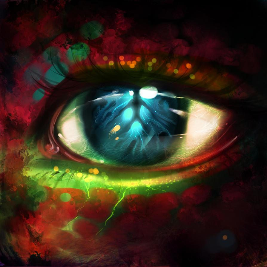 Dragon eye by ryky