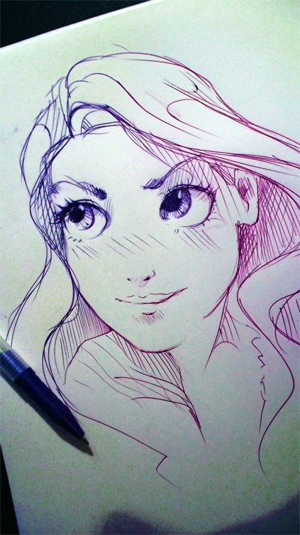 Rapunzel by ryky