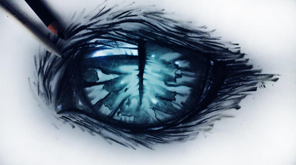 Невероятные рисованные глаза