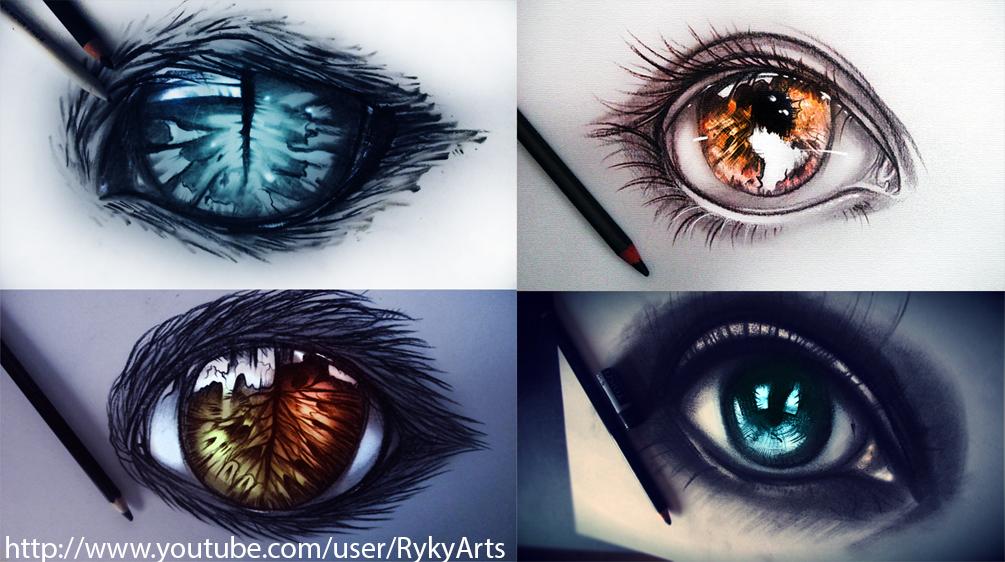 Eyes-VIDEOS ! by ryky