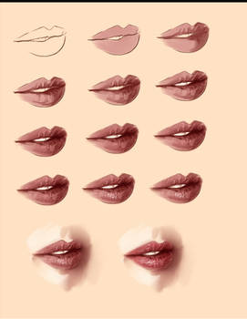 realistic lips tutorial
