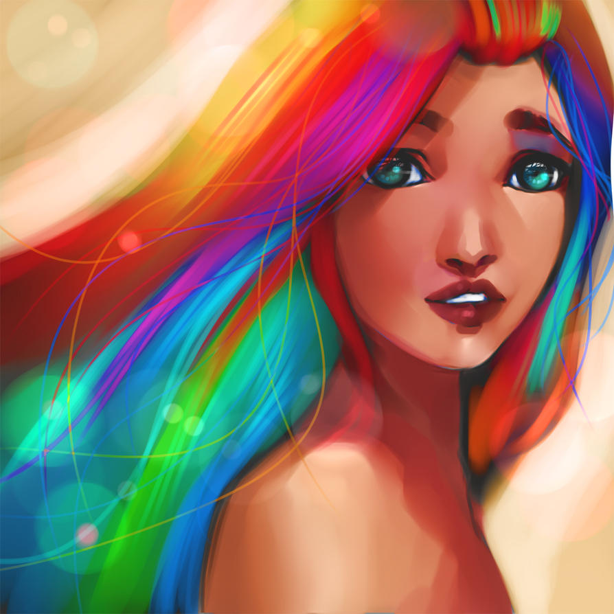 I live in the colors by ryky