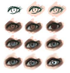 eye-step by step by ryky