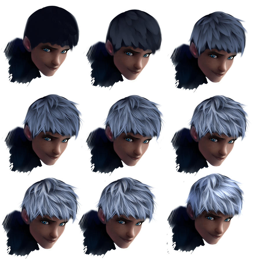 Hair Tutorial  Jack Frost By Ryky
