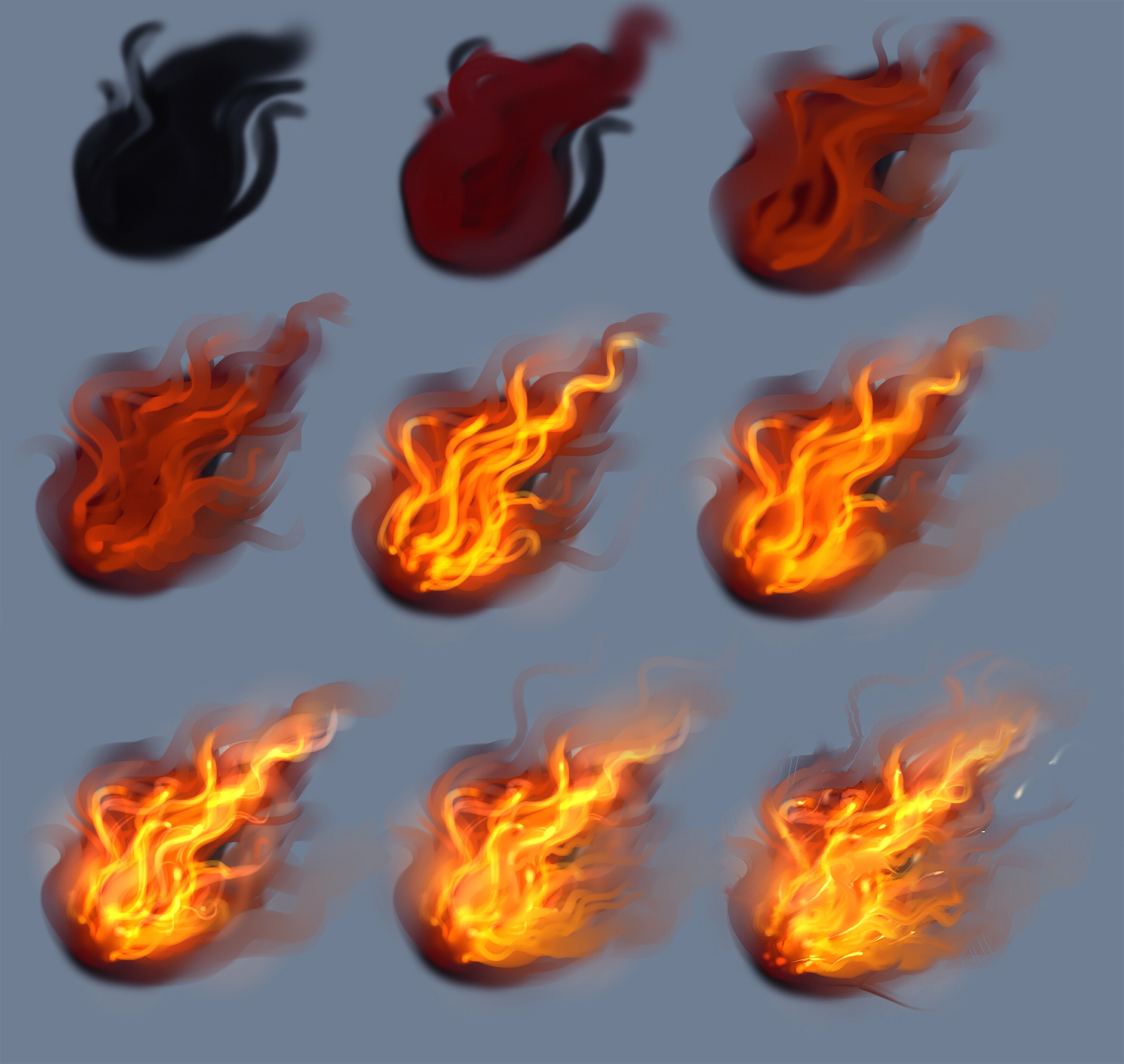fire drawings design - photo #15