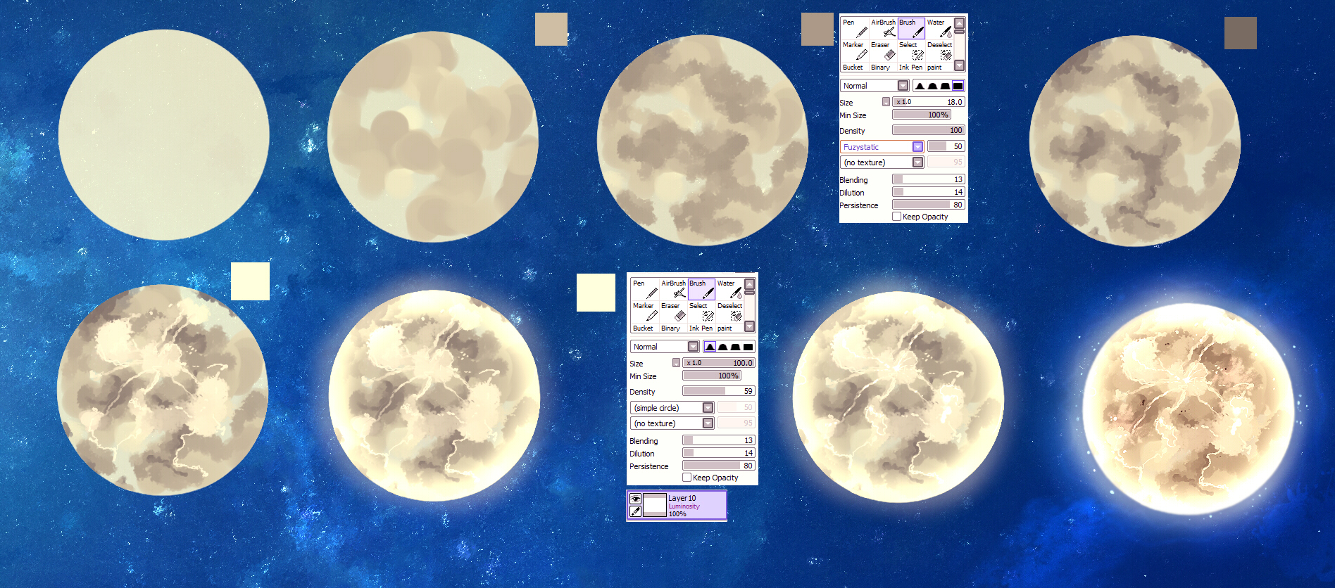 MOON - easy tutorial