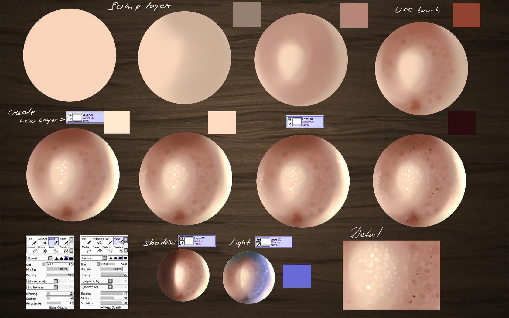 Skin Tutorial by ryky