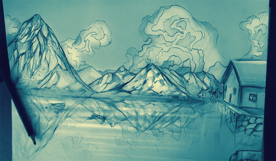 Lake by ryky